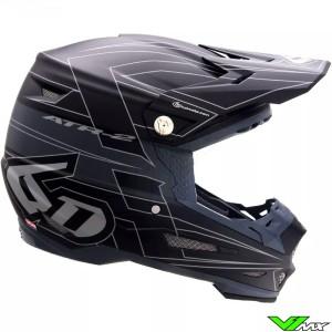 6D ATR-2 Missile Motocross Helmet - Black / Mat