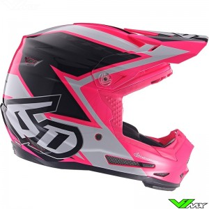 6D ATR-2 Youth Strike Motocross Helmet - Pink