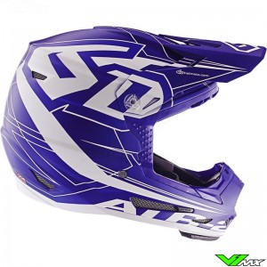 6D ATR-2 Youth Aero Motocross Helmet - Blue