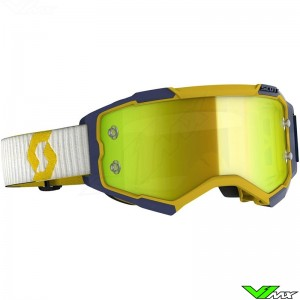 Scott Fury Motocross Goggle - Yellow / Blue
