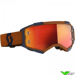 Scott Fury Motocross Goggle - Grey / Orange