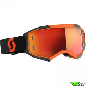 Scott Fury Motocross Goggle - Orange / Black