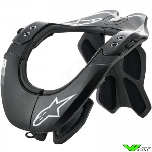 Alpinestars Tech-2 Neckbrace - Black / Grey