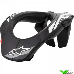 Alpinestars YNS Neck brace - Black / White