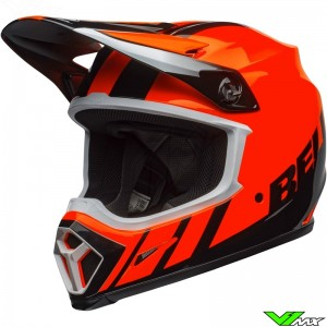 Bell MX-9 Dash Motocross Helmet - Orange / Black