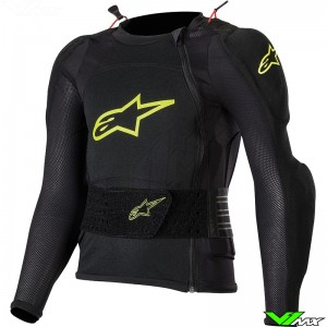 Alpinestars Bionic Plus Youth Protection Jacket - Black / Fluo Yellow