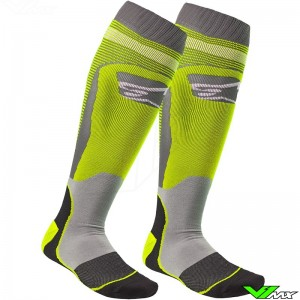 Alpinestars MX PLUS-1 2020 Motocross Socks - Fluo Yellow