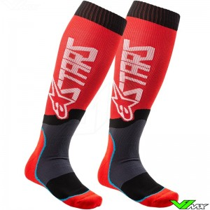 Alpinestars MX PLUS 2 2020 Motocross Socks - Red
