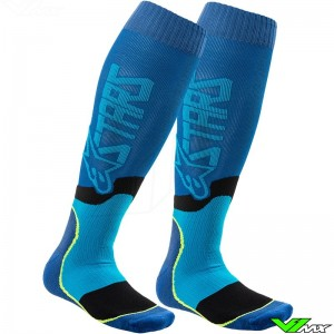 Alpinestars MX PLUS 2 2020 Motocross Socks - Blue