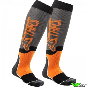Alpinestars MX PLUS 2 2020 Motocross Socks - Orange