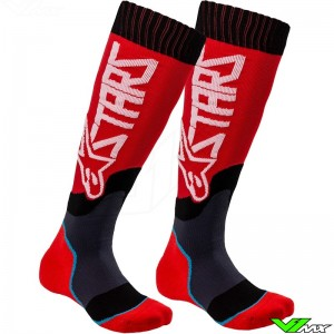 Alpinestars MX PLUS 2 2020 Youth Motocross Socks - Red