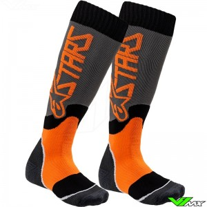 Alpinestars MX PLUS 2 2020 Youth Motocross Socks - Orange