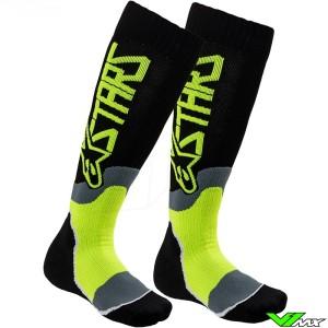Alpinestars MX PLUS 2 2020 Youth Motocross Socks - Fluo Yellow