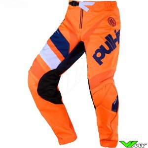 Pull In Challenger Race Motocross Pants 2020 - Orange / Navy