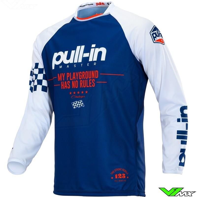 Pull In Challenger Master Motocross Jersey 2020 - Navy / Red (XXL)