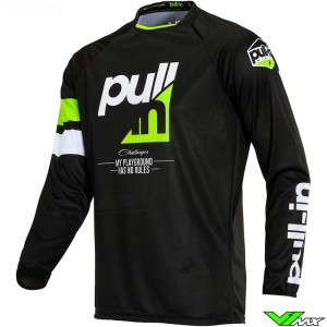 Pull In Challenger Race Motocross Jersey 2020 - Full Lime