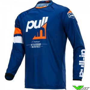 Pull In Challenger Race Motocross Jersey 2020 - Orange / Navy