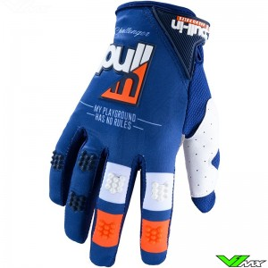 Pull In Challenger Motocross Gloves 2020 - Navy / Orange