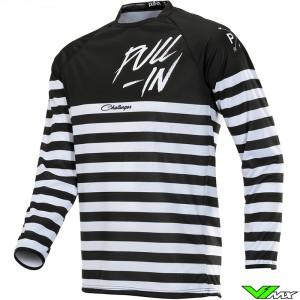 Pull In Challenger Original Motocross Jersey 2020 - Mariniere / Black