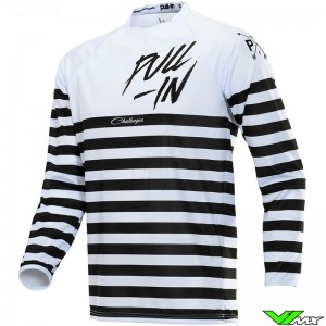 Pull In Challenger Original Motocross Jersey 2020 - Mariniere / White / Ventilated