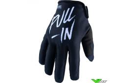 Pull In Challenger Original Youth Motocross Gloves - Black