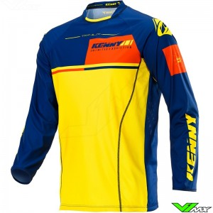 Kenny Titanium 2020 Cross shirt - Geel