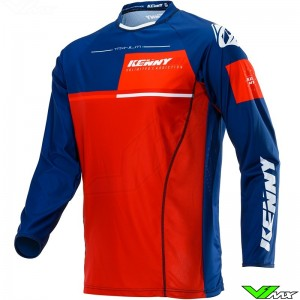 Kenny Titanium 2020 Cross shirt - Navy / Rood