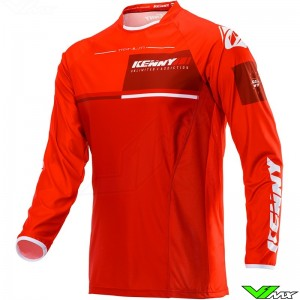 Kenny Titanium 2020 Cross shirt - Rood