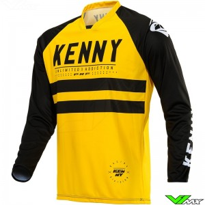 Kenny Performance 2020 Cross shirt - Geel