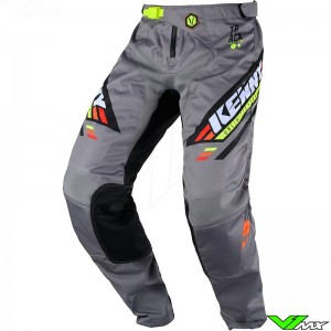 Kenny Track Victory 2020 Motocross Pants - Black / Grey / Orange