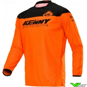 Kenny Track 2020 Cross shirt - Neon Oranje