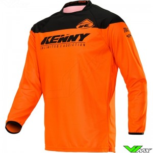 Kenny Track Raw Kid 2020 Youth Motocross Jersey - Neon Orange