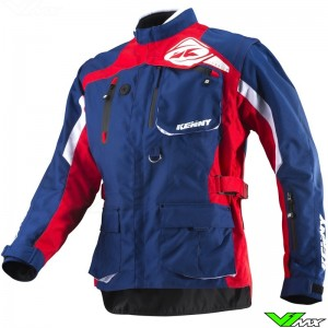 Kenny Titanium Enduro Jacket - Red / Blue