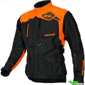 Kenny Titanium Enduro Jacket - Black / Orange