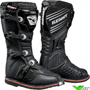 Kenny Track Motocross Boots - Black