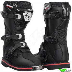 Kenny Track Youth Motocross Boots - Black