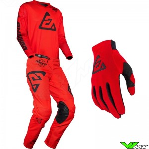 Answer Arkon 2020 Motocross Gear Combo - Bold / Red