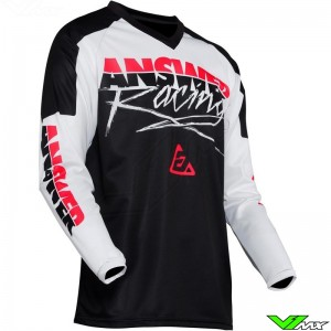 Answer Syncron 2020 Motocross Jersey - Pro Glow / Pink