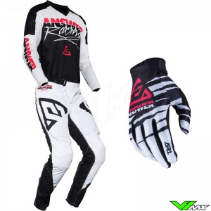 Answer Syncron 2020 Motocross Gear Combo - Pro Glow / Pink