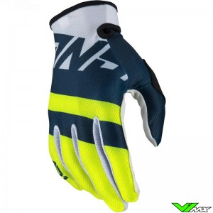 Answer AR1 2020 Youth Motocross Gloves - Voyd / Midnight / Fluo Yellow