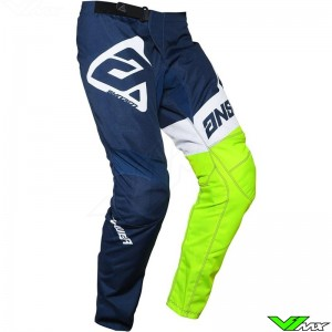 Answer Syncron 2020 Youth Motocross Pants - Voyd / Midnight / Fluo Yellow
