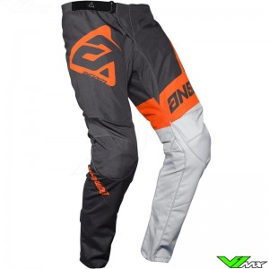 Answer Syncron 2020 Youth Motocross Pants - Voyd / Charcoal / Orange