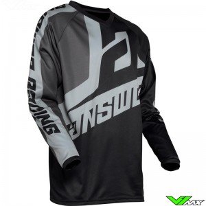 Answer Syncron 2020 Youth Motocross Jersey - Voyd / Black / Charcoal