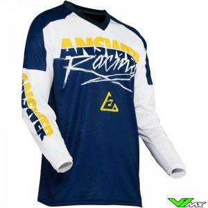 Answer Syncron 2020 Youth Motocross Jersey - Pro Glow / Yellow / Midnight