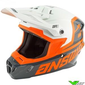 Answer AR1 Motocross Helmet - Voyd / Charcoal / Grey