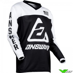 Answer Arkon OPS 2020 Enduro Jersey - Black / White