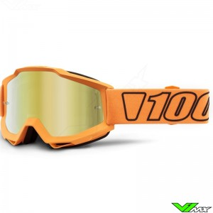 100% Accuri Luminari Motocross Goggle - Mirror Gold