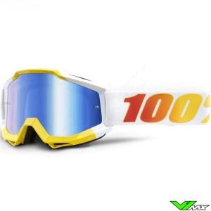 100% Accuri Astra Motocross Goggle - Mirror Blue