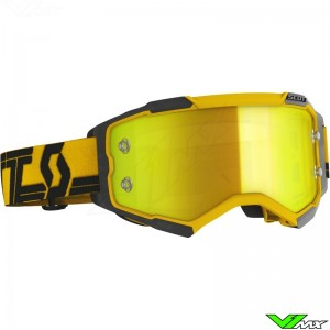 Scott Fury Motocross Goggle - Yellow / Black
