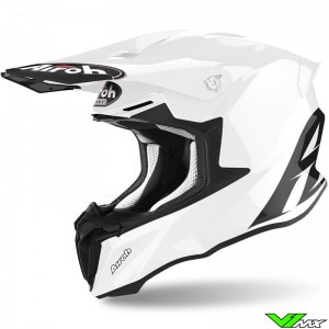 Airoh Twist Motocross Helmet - White